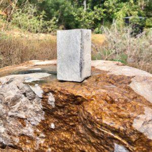 Stone chosen to become a Polynesian Tiki